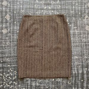 Ralph Lauren Collection Tweed Pencil Skirt 12